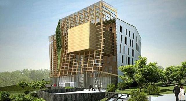 ENERTIC, Edificio ecointeligente en Euskal Herria