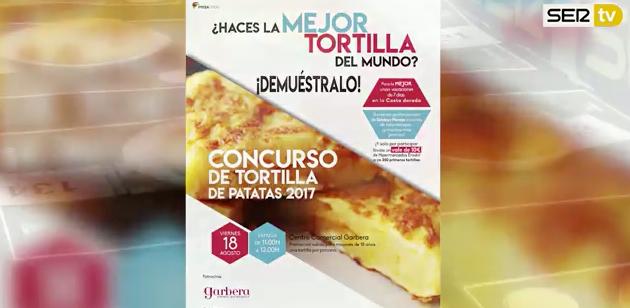 Casi 200 tortillas de patata en el tradicional concurso de Cadena Ser