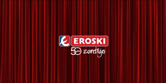 Eklan en los 50 años de EROSKI